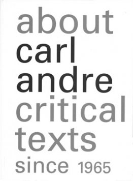 About Carl Andre